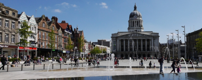 get a cheap taxi in loughborough to nottingham city centre